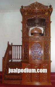 Mimbar Masjid Ukiran Terbaru