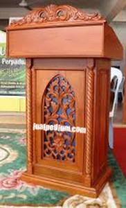 Furniture Mimbar Masjid Jati Jepara