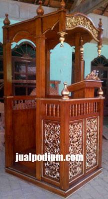 Mimbar Masjid Jepara