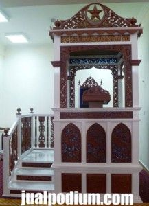 Mimbar Masjid Istimewa