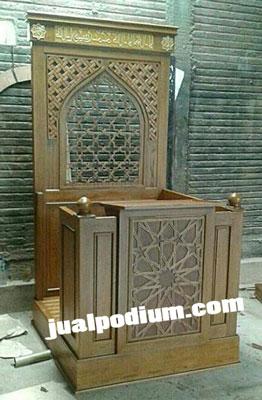 Mimbar Masjid Model Baru 2017