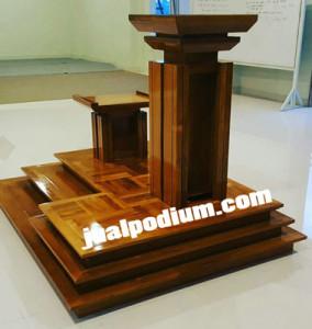 Mimbar Masjid Minimalis Terbaru 2018