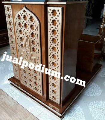 Mimbar Masjid Sederhana