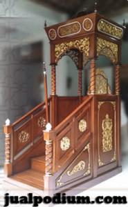 Mimbar Masjid Bandar Lampung