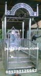 Mimbar Masjid Stainless Minimalis
