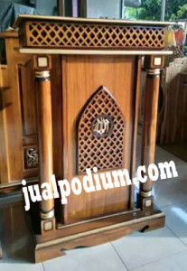 Mimbar Podium Masjid Minimalis Murah