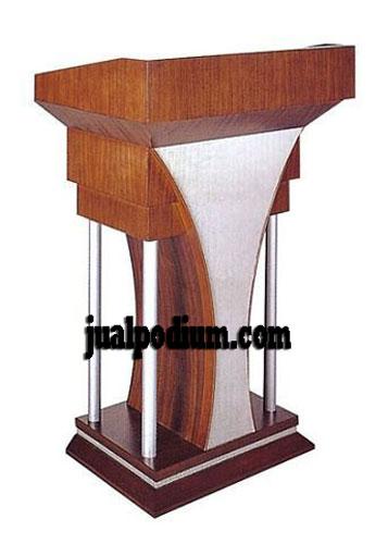 Mimbar Podium Seminar Minimalis Modern
