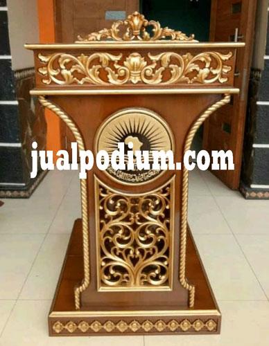 Mimbar Masjid Ukuran Kecil Terbaru